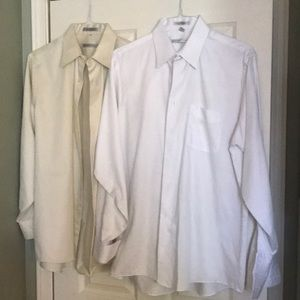 Geoffrey Beene Shirts - Geoffrey Beene dress shirts, button down, collars